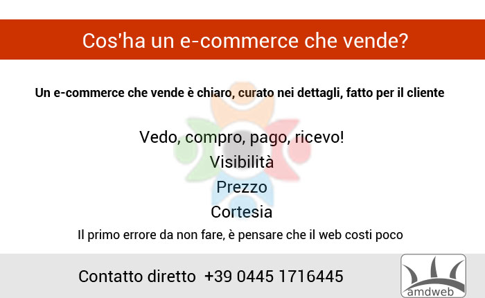 Cos'ha un e-commerce che vende?