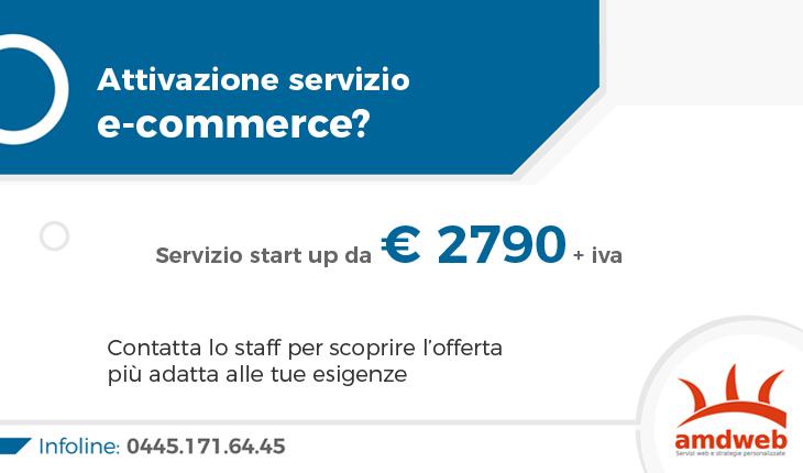 Servizio sito e-commerce amdweb da 2790 euro