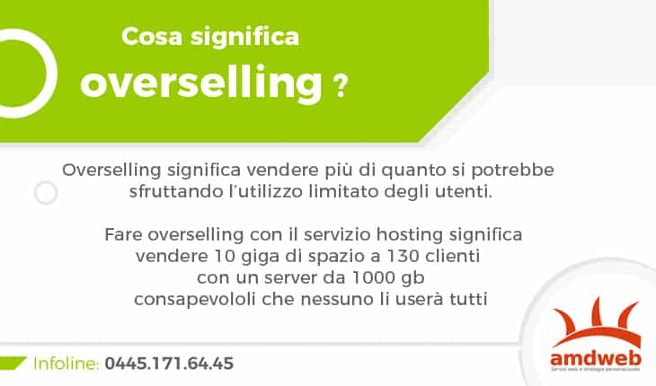 Cosa significa overselling?