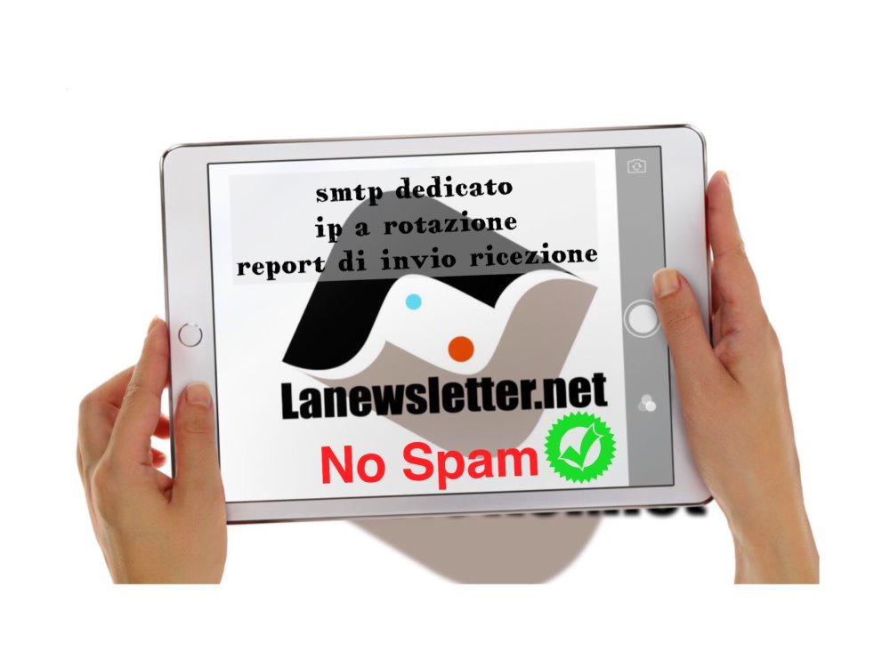 mail marketing con smtp dedicato | lanewsletter.net