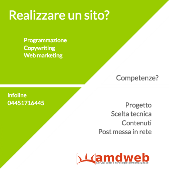 web strategy aspetti tecnici | amdweb.it